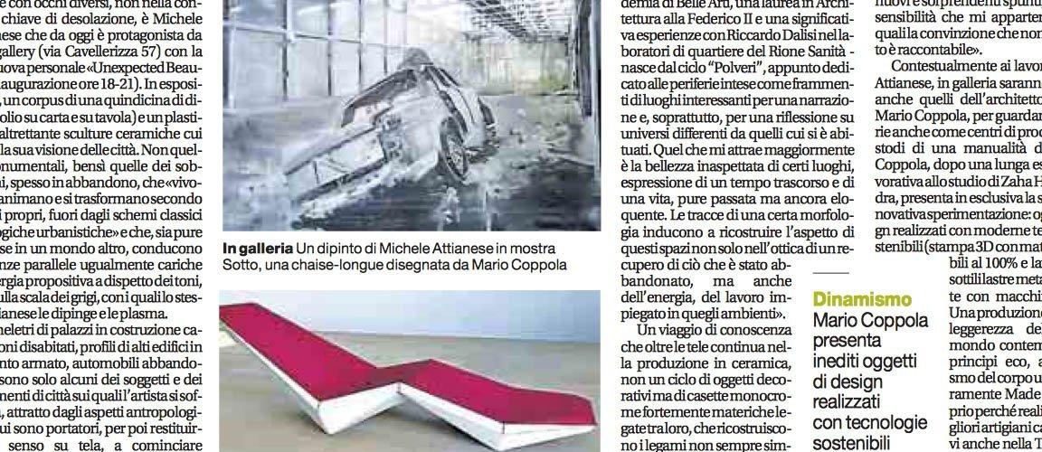 ecosistema design su Il Mattino