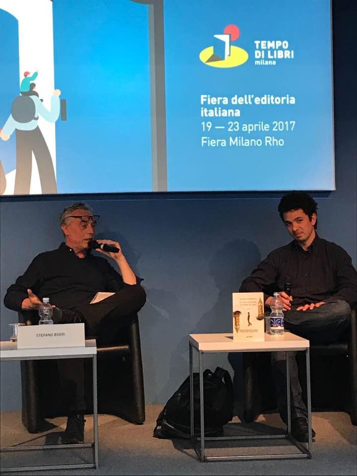 Mario Coppola con Stefano Boeri a Tempo di libri