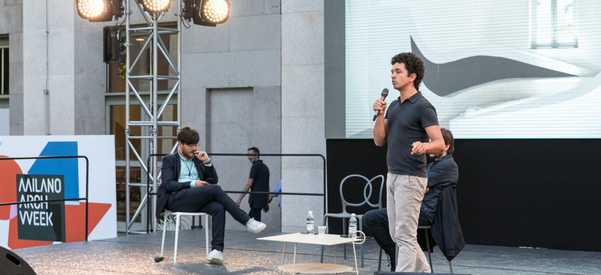 Mario Coppola a Milano Arch Week 2018