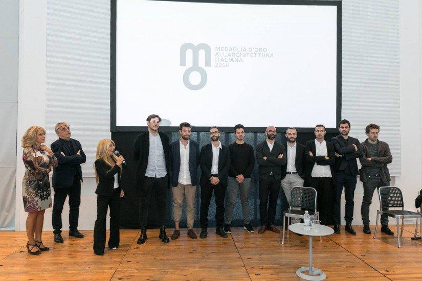 Mario Coppola finalista T-Young Medaglia d'oro all'architettura italiana 2018